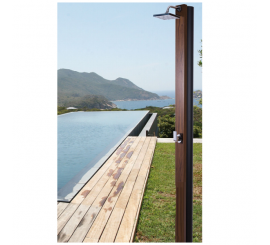 Ducha solar de 30 litros para piscina, jardin Natur Teak Teka