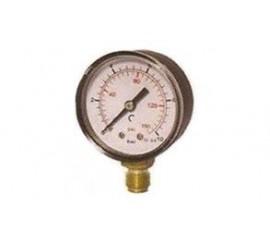 Manómetro para gupo de presion y otros