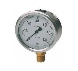 Manómetro para grupo de presión y otros de glicerina