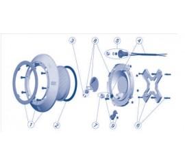 Recambios / Repuestos proyector foco extraplano AstralPool piscinas