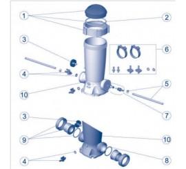 Recambios / Repuestos dosificador de cloro pastillas AstralPool piscinas