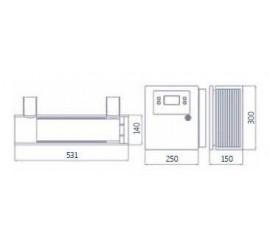 Clorador salino piscina semi industrial Innowater SMC