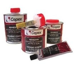 Pegamento / Adhesivo para tubos y piezas PVC