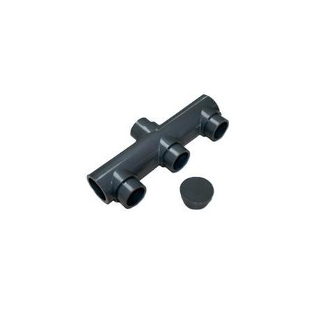 Colector depuradora de aspiracion 50 Ø PVC presion