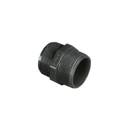 Machon PVC presion doble rosca