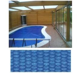 Cubiertas para piscinas sombrillas brezo esparto zona for Sombrillas para piscinas