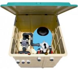 Caseta completa montada con filtro + bomba Kripsol