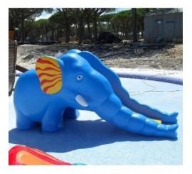 Tobogan parques infantiles mod. elefante