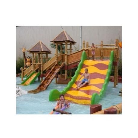 Parques infantiles mod. agua bambu C