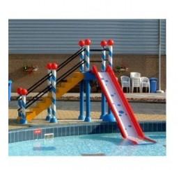 Torre parques infantiles mod. torres con tobogan