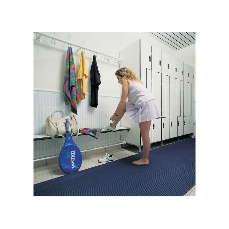 Suelo continuo antideslizante pavimento para vestuarios - Suelo gimnasio ...