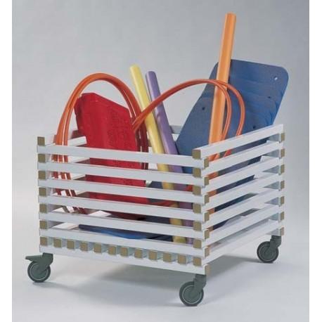 Carro porta material para organizar y clasificar