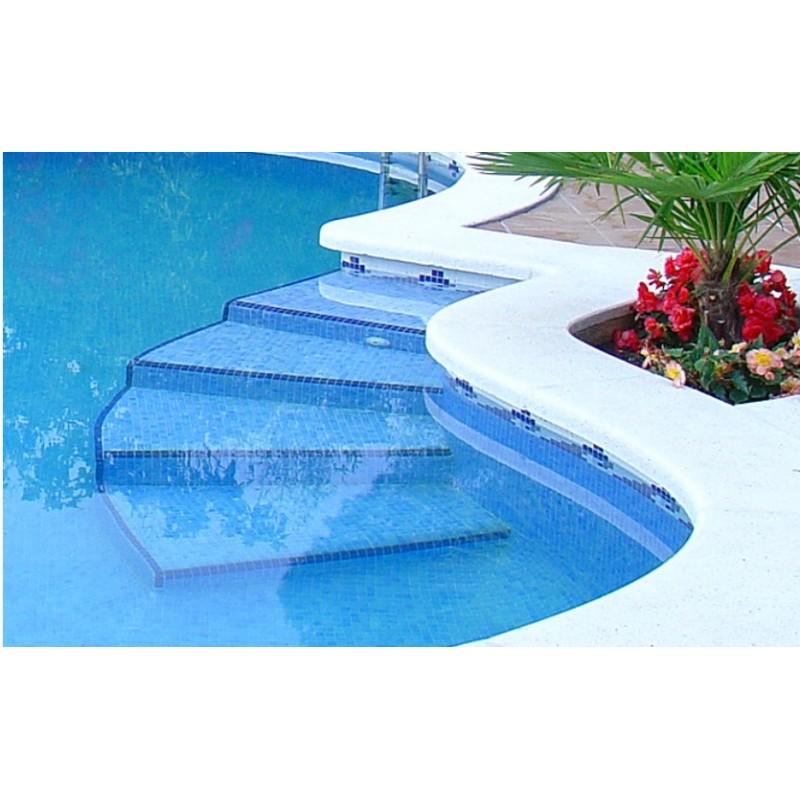 Gresite piscinas cenefa griega for Piscinas de gresite